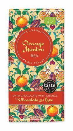 Chocolate & Love Ekologisk Orange  65 % 80 g