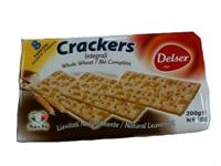 Cream Crackers 200 gram Fullkorn
