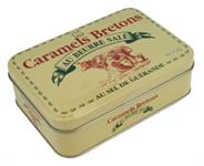 Salted butter caramels, metall box (komotiv) 300g